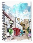 A Street In Ripon Spiral Notebook