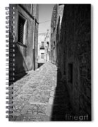 A Street In Sicily Spiral Notebook