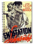 A Streetcar Named Desire Stylish European Portrait Poster Spiral Notebook