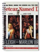 A Streetcar Named Desire Wide Poster Spiral Notebook