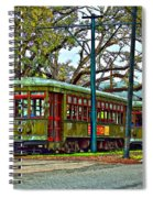 A Streetcar Named St. Charles Spiral Notebook