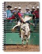 A Strong Bull Ride Spiral Notebook