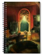 A Study In Scarlet Spiral Notebook