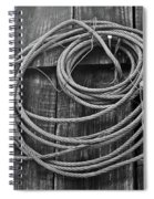 A Study Of Wire In Gray Spiral Notebook