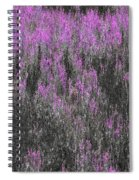 A Suggestion Of Wildflowers Spiral Notebook