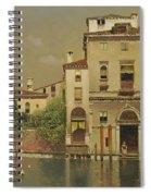A Sultry Day In Venice Spiral Notebook