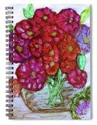 A Summer Bouquet Spiral Notebook