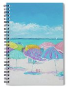 A Summer Day Drifts Away Spiral Notebook