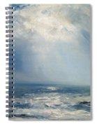 A Sunbeam Over The Sea Spiral Notebook