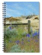 A Sunday Evening Stroll Spiral Notebook