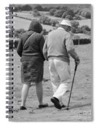 A Sunday Stroll In The Country Spiral Notebook