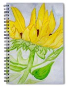 A Sunflower Blessing Spiral Notebook