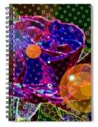 A Sunlit Blossom  Spiral Notebook