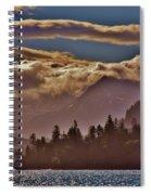 A Sunny Day On The Kachemak Bay Spiral Notebook