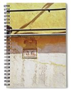 A Sunny Wall Spiral Notebook