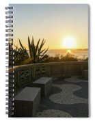 A Sunset Relaxation Zone - Spiral Notebook