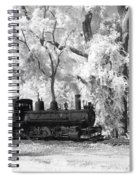 A Surreal Train Ride Spiral Notebook