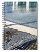 A Swimming Pool Spiral Notebook