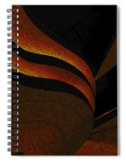 A Swirl Of Light Spiral Notebook