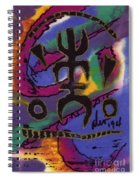 A Symbol Of Life Spiral Notebook