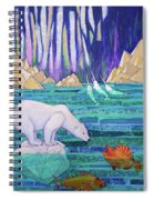 A Tale Of Light And Ice Spiral Notebook