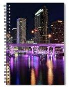 A Tampa Night Spiral Notebook