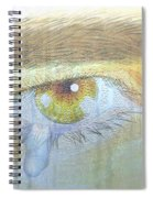 A Teardrop Kissed... Spiral Notebook
