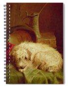 A Terrier Spiral Notebook