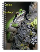 A Terrific Frog #1 Spiral Notebook