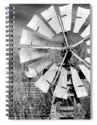 A Texas Windmill Spiral Notebook