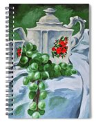 A Time For Tea Spiral Notebook
