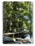 A Time To Go Fishing Spiral Notebook