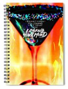 A Toast To The Heart And Mind Spiral Notebook