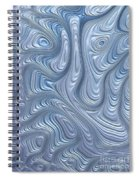 A Touch Of Blue Spiral Notebook