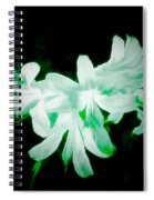 A Touch Of Green On The Lilies Spiral Notebook