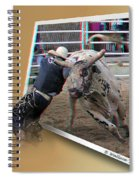 A Tough Sport - Use Red-cyan 3d Glasses Spiral Notebook
