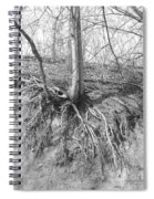 A Tree In Shiawassee Park, Living On The Edge Spiral Notebook