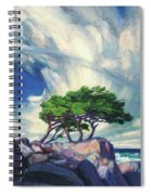 A Tree On The Seashore Reef Spiral Notebook