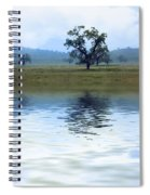 A Trees  Reflection Spiral Notebook