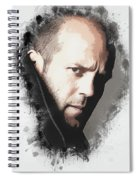 A Tribute To Jason Statham Spiral Notebook