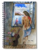A Tribute To Salvador Dali Spiral Notebook