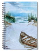 A Trip To The Beach Spiral Notebook