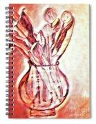 A Tulip Bouquet Spiral Notebook