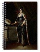A Turkish Lady Spiral Notebook