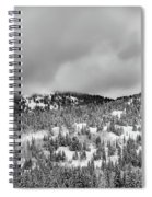 A Utah Winter Spiral Notebook