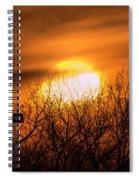 A Vague Sun Spiral Notebook
