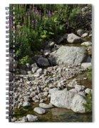 A Vail Stream Spiral Notebook
