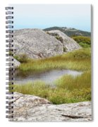 A Vernal Pool Atop A Subalpine Granite Balds Spiral Notebook