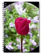 A Very Special Rose Spiral Notebook