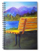 A View For Two Spiral Notebook